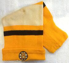 NWT NHL Boston Bruins Reebok Cuffed Winter Knit Sock Hat Hat Cap Beanie NEW!