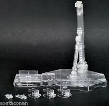 Universal Clear White display stand base for 1/100 MG Gundam models