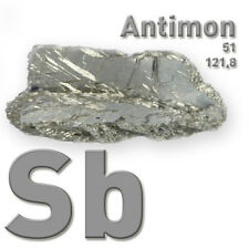 Antimoine métal-Antimony METAL 51 SB - 250 g-Pure élément Sample - 99,65%