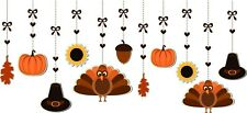 Hanging Thanksgiving Window Cling