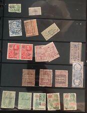Belgium Revenue Stamp Collection Lot Mxe