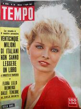 TEMPO n°26 1961 Scilla Gabel - Marilyn Monroe rileva tutto di sè  [C89]