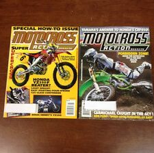 LOT OF 2 2001 MOTOCROSS ACTION MAY JUNE 125 250 450 SHOOTOUT & MORE RICKY CARMIC