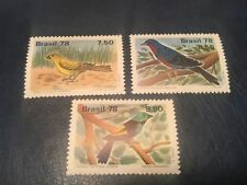 Brazil #1557-1559 XF NH Free Shipping (Bx) birds