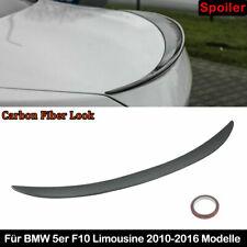 Carbon Fiber Look Sport-Performance Heckspoiler Spoiler passt für BMW F10 10-17