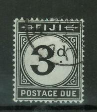 Fiji - Postage Due (T10, 3d) Used, 251