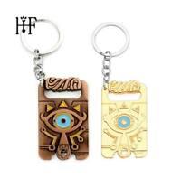 SET of 2 Cute Legend of Zelda Keychain Handmade Breath of the Wild Game Jewelry