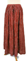 Toast Size M 14 16 Red White Crinkled Long Skirt Elasticated Waist NEW BNWT £89