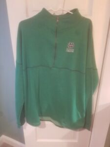 New with tags Colosseum Green Fighting Irish 1/2 zip pullover in XL