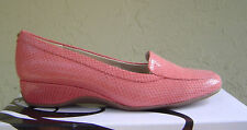 NEW BANDOLINO RED WEDGE PUMPS LOAFERS SIZE 7.5 M 9 M $69