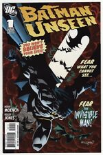 BATMAN: UNSEEN #1,2,3,4,5 DC Comics Doug Moench Kelley Jones Detective COMPLETE!