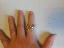 Ring from Avon (new) MANY WISHES 3 PIECE STACKABLE RING SET (SZ 10)