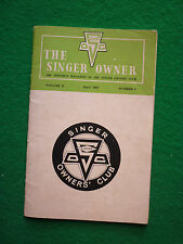 SINGER OWNER MAGAZINE MAY 1967 (CHAMOIS COUPE HUSKY LOTUS CORTINA REVIEWS IMP)