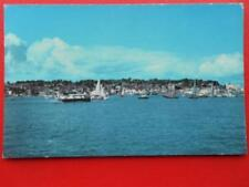 POSTCARD COWES WITH HOVERCRAFT - ISLE OF WIGHT