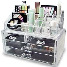 Elegante Caja Organizadora de Cosmeticos y Joyas 4 Gavetas