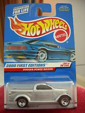Hot Wheels Dodge Power Wagon 2000 First Editions Silver