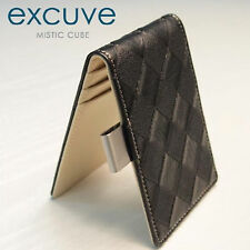 Money Clip Personalized Bifold Wallet G14 Chess Black - Free Engraving