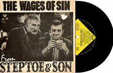 "STEPTOE & SON - THE WAGES OF SIN - EP 7"" 45 VINYL RECORD PIC SLV 1963"