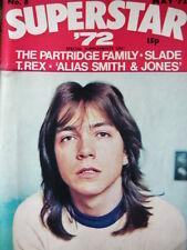 SUPERSTAR MAGAZINE NO 8 MAY 1972 - DAVID CASSIDY - SLADE - T. REX