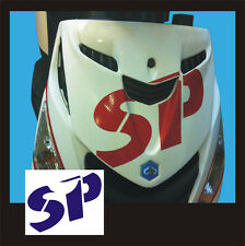 Adesivo Piaggio Zip logo SP Blù  - adesivi/adhesives/stickers/decal