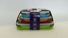 2 x Silicone food safe storage Collapsible set of 3. Bulk Order
