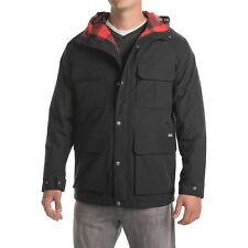 NWT $279 Woolrich Advisory Wool Insulated Parka Jacket in Black sz XL