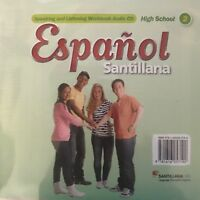 Espanol Santillana High School Level 2 Speaking and Listening Workbook Audio CD