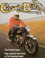 The Vincent Issue Phil Irving Norton AMC Heavyweight Singles 3/80 Classic Bike