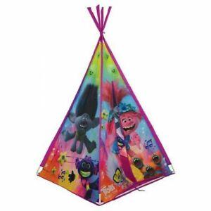 Trolls 2 Kids Teepee Den, Children's Indoor & Outdoor Wigwam Tent