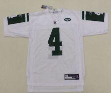 NFL New York Jets Brett Favre #4 Mens White Reebok Jersey Size M