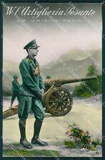 Militari WWI Propaganda Artiglieria Pesante Foto cartolina XF0396