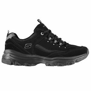 Skechers Womens Ladies Icon Dlite Trainers Shoes Lace Up Padded Ankle Collar
