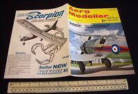 Vintage Aeromodeller Magazine (June 1972). Enya 19-V Test + Original DS Plan