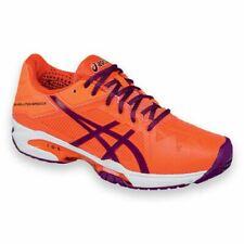 Asics Ladies Gel Solution Speed 3 Tennis Trainers Orange E650N 0633 (A17)
