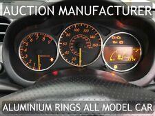 For Toyota Celica Mk7 99-06 Custom Set Of Polished Aluminum Dashboard Rings x14