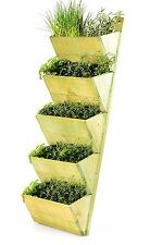 SALE 5 Tier Wooden Shelf Planter, Wall Hanging Growhouse,Herb Planter,Seeds,Rack