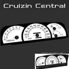Plastic WHITE DIAL Holden Commodore Level 2 VN VP VR VS gauge dash tacho speedo