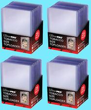 100 ULTRA PRO TOBACCO SIZE CARD TOPLOADERS Trading Sport Allen Ginter Mini Cigar