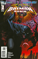 BATMAN AND ROBIN (Vol. 2) #1 F, 1st Print, DC Comics 2011 Stock Image