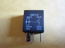 4 pin 12V 20A Micro Relay (normalmente aperto) + Diodo