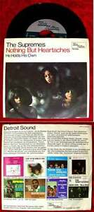 Single Supremes: Nothing But Heartaches (Tamla Motown TM 1080) D