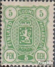 Finland Mi.-Aantal.: 28B met Fold 1889 Crest