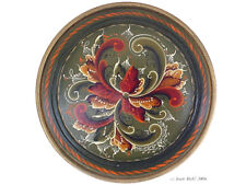 Serving Plate Rosemaling Pattern Packet #13p