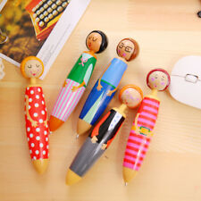 Cute Doll Ballpoint Pens Colorful Girls Creative Students Writing Stationery