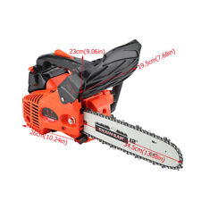 "12"" Bar Gas Chainsaw Chain Saw 25cc Engine +Aluminum Crankcase Gasoline 900W"