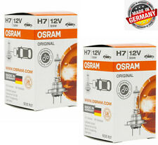 2 X Osram H7 64210 Long Life Halogen Car Head Light Bulbs Globe 12V 55W PX26d