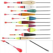 10x Sensitive Waggler Floats Carp Perch Match Coarse Fishing Tackle Balsa Bobber