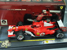 1/18 Hot Wheels FERRARI 248 F1 #5 M.SCHUMACHER 91 WINS FINAL VICTORY 2006