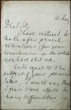 More details for sir julian goldsmid letter sent from 105 piccadilly, london mid to late 1800's