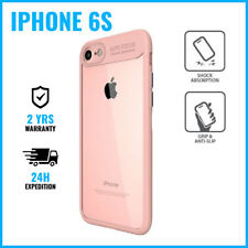 Focus Armor Cover Cas Coque Etui Silicone Hoesje Case Black For iPhone 6S Pink